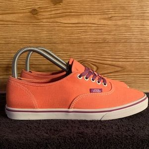 Vans Unisex LoPro Authentic Orange/Purple Mens 5.5